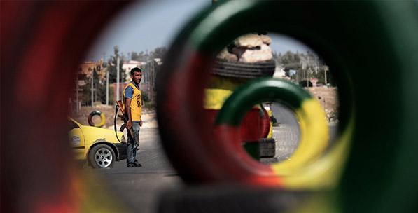 Kuzey Suriye'de PYD Kuşağı