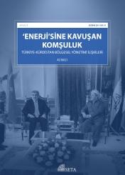 'Enerji'sine Kavuşan Komşuluk: Türkiye-Kürdistan Bölgesel Yönetimi İlişkileri