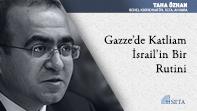 Gazze'de Katliam İsrail'in Bir Rutini