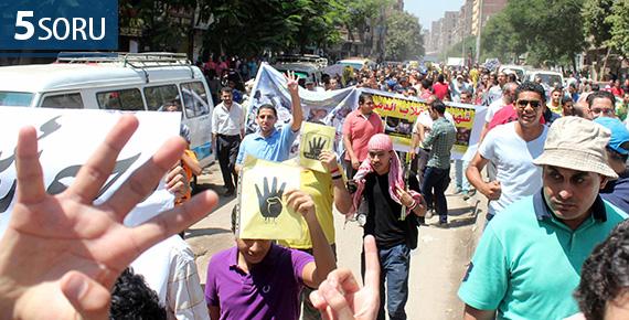 5SORU: Rabia'nın 1. Yıldönümünde Mısır ve Sisi Yönetimi