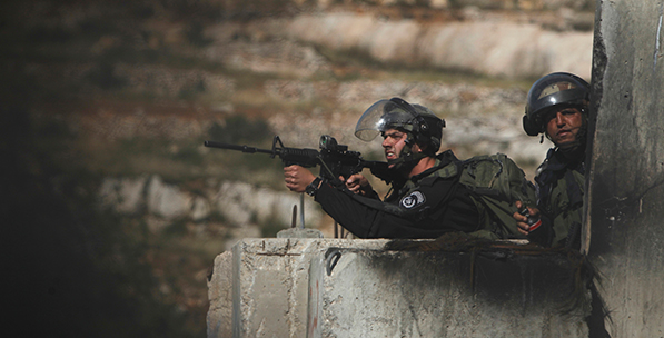 Subcontracting repression in the West Bank and Gaza