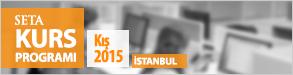 Kurs 2015 kış İstanbul