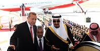 Erdoğan'ın Riyad Ziyareti