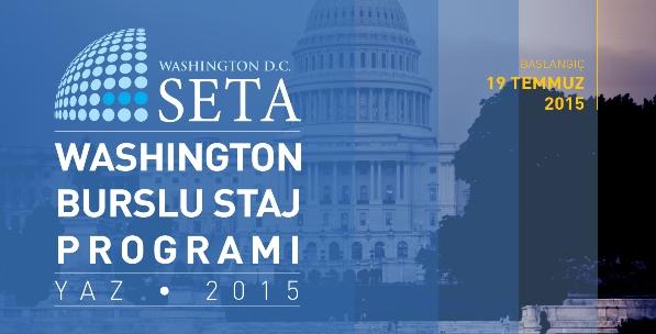 SETA Washington Burslu Staj Programı Başvuru Sonuçları