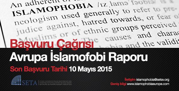 Başvuru Çağrısı: Avrupa İslamofobi Raporu