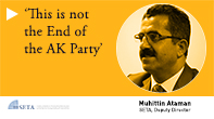 'This is not the End of the AK Party'