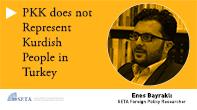 PKK does not Represent Kurdish People in Turkey