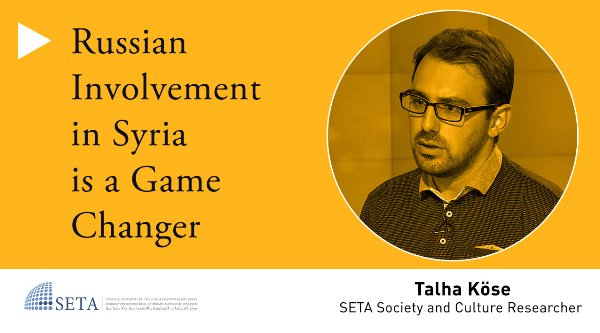 Russian Involvement in Syria is a Game Changer