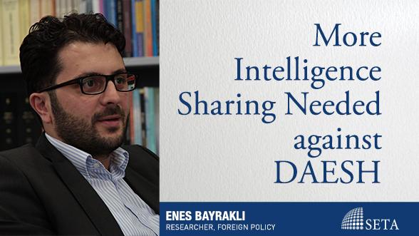 More Intelligence Sharing Needed against DAESH