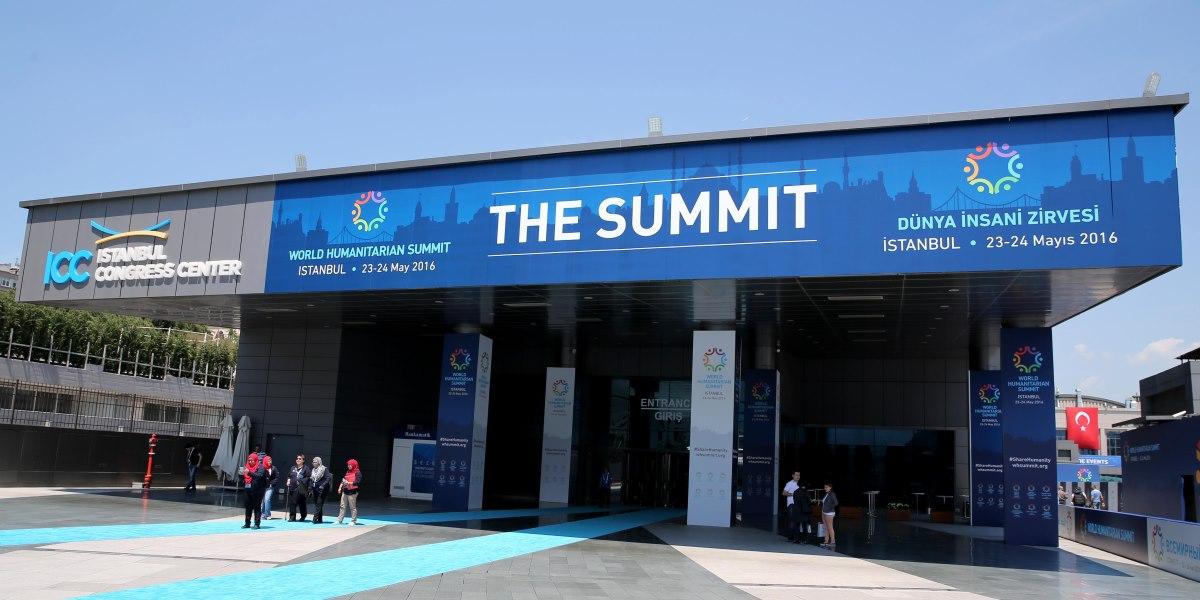 World Humanitarian Summit in Istanbul