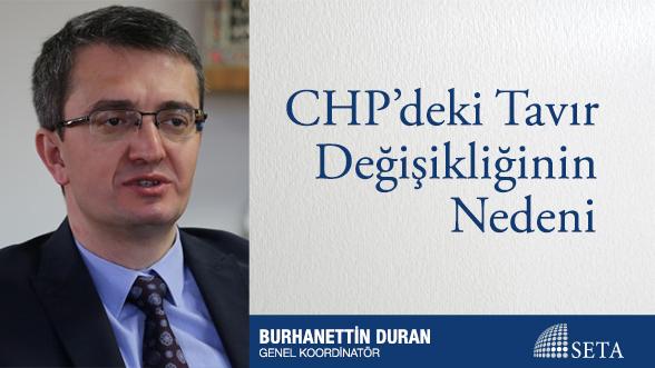 CHP'deki Tavır Değişikliğinin Nedeni