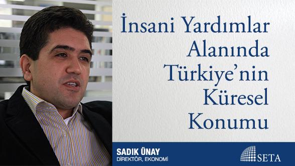 İnsani Yardımlar Alanında Türkiye'nin Küresel Konumu