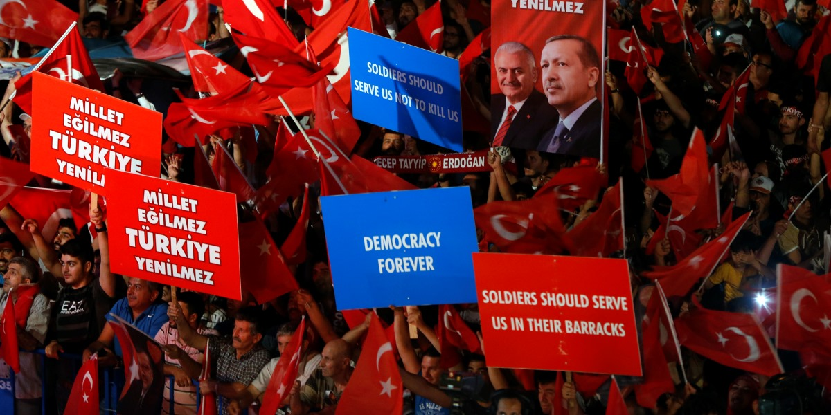 Main Tenets of a Failed Coup Attempt