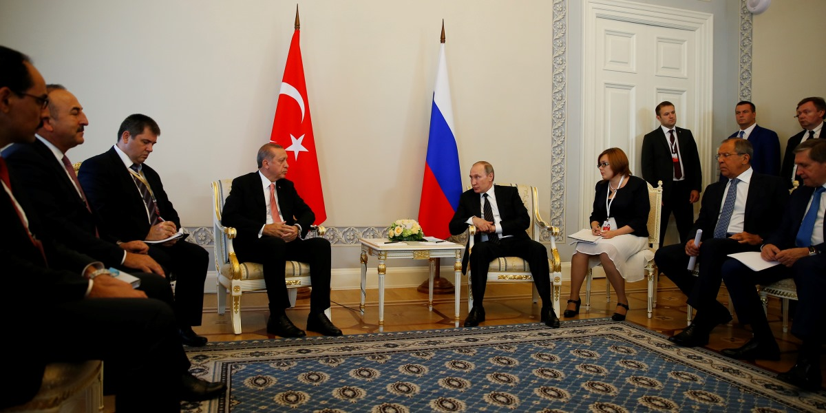 Russian-Turkish Relations and Conflicted West