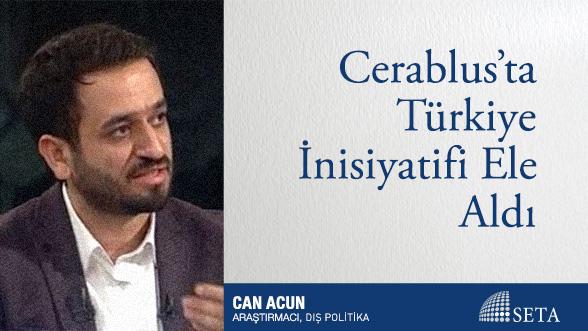 Cerablus'ta Türkiye İnisiyatifi Ele Aldı