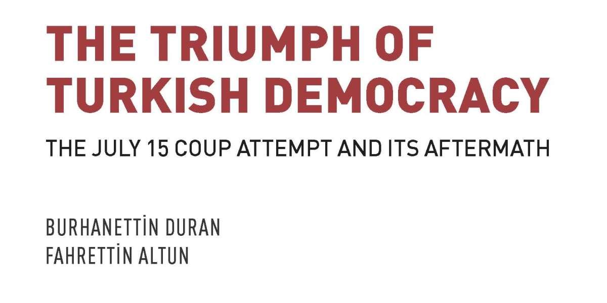 SETA'dan 15 Temmuz Kitabı: The Triumph of Turkish Democracy