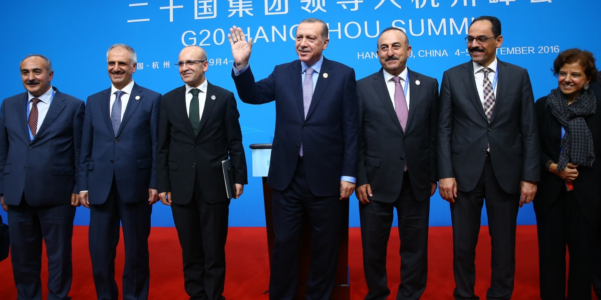 Erdoğan's Portfolio at the Hangzhou Summit