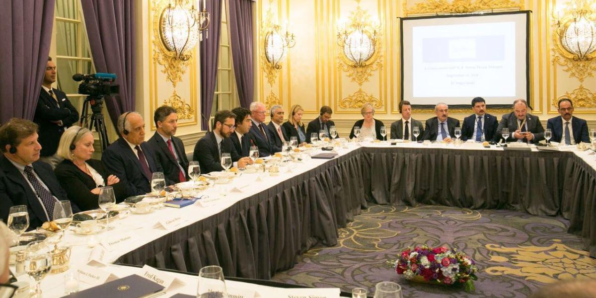Cumhurbaşkanı Erdoğan, SETA'nın Düzenlediği Çalışma Yemeğine Katıldı