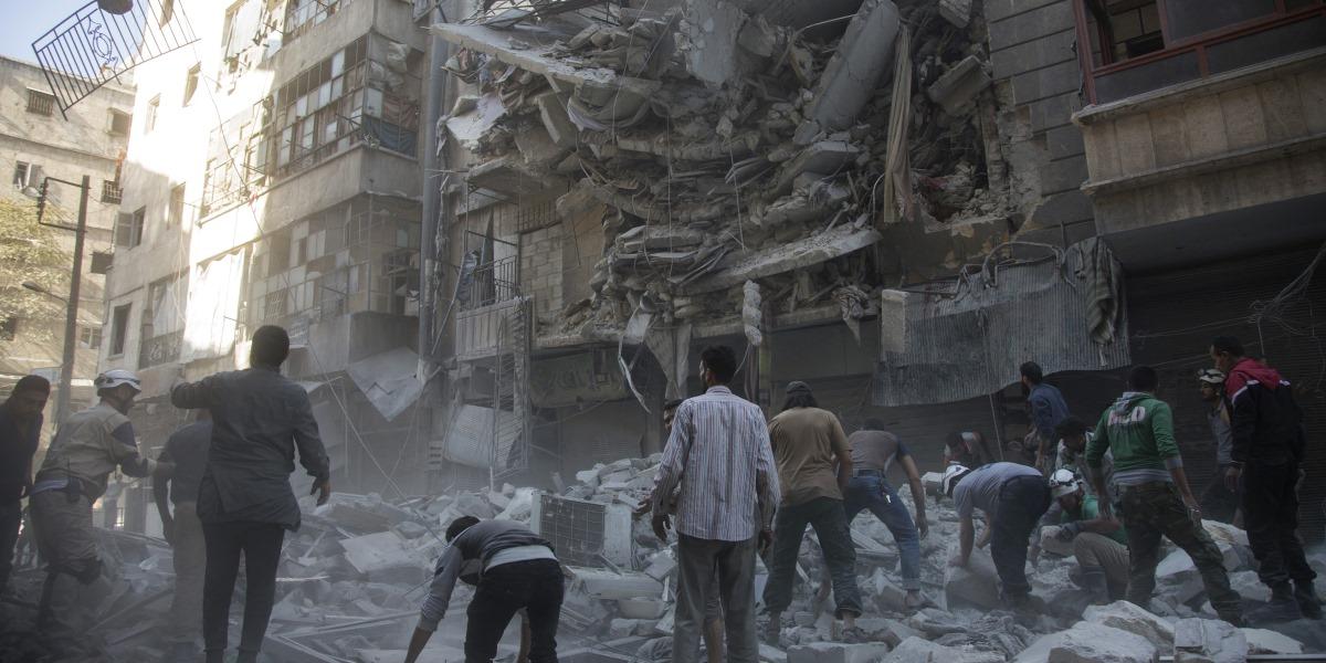 Halep'te İnsanlık Bir Kez Daha Ölürken!